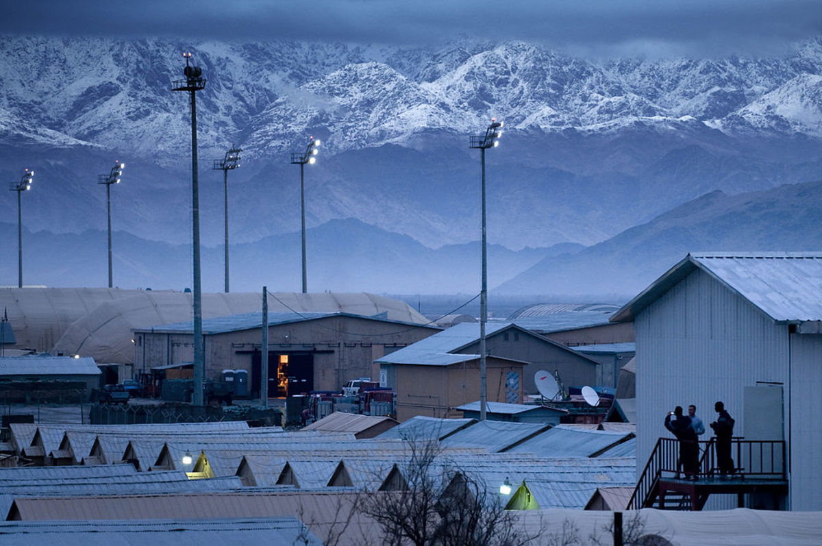 Bagram Airfield Afghanistan
