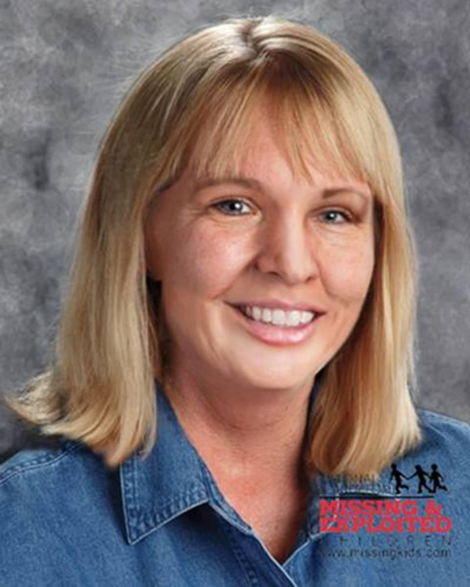 Age progressed photo of Kim Marie Larrow to 43 years