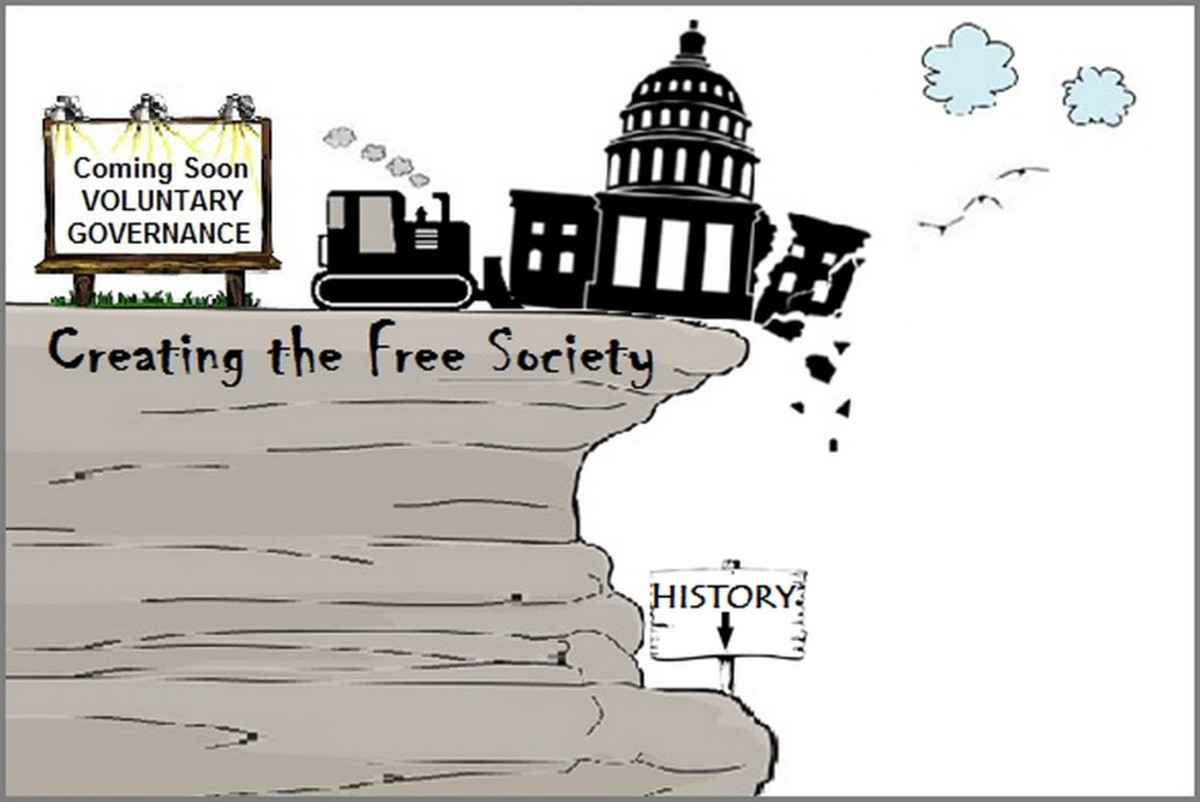 Voluntary Governance: A crucial step toward a humane libertarian society