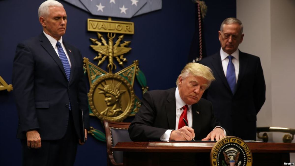 Executive Order For Protecting Our Nation From Terrorists Blocked By Courts - Why?