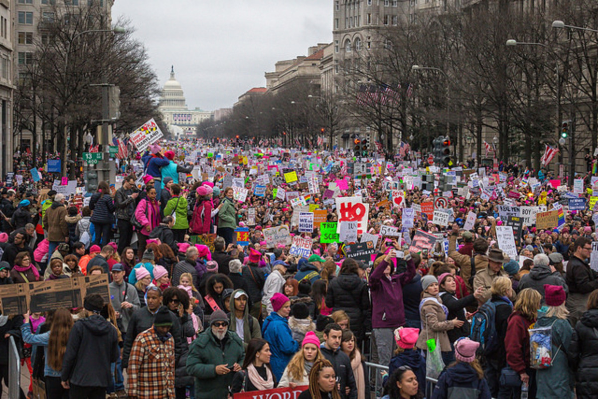 Women's March in Washington, D.C., January 21, 2017