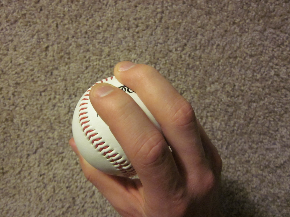 My favorite grip for a sinker.