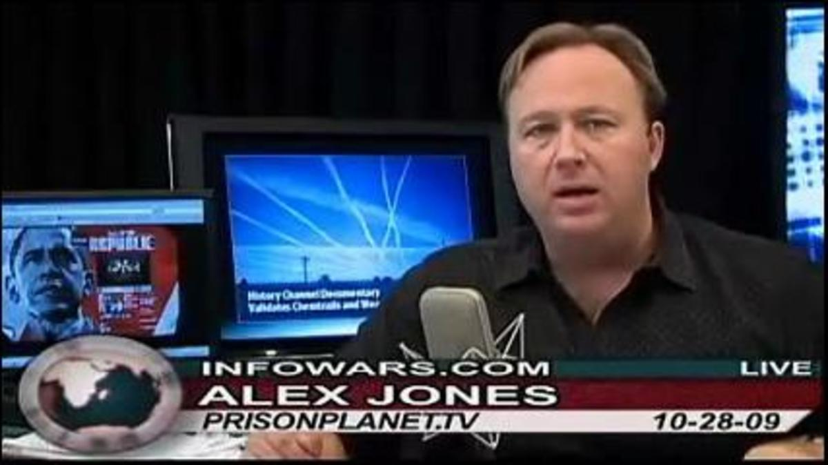 The Bizarre Conspiracy World of Alex Jones