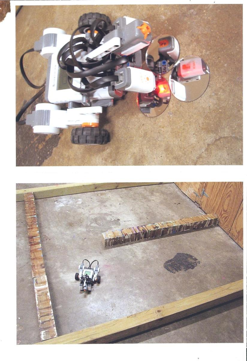 Science Fair Projects Using Lego Mindstorms: Bomb Detecting Robot