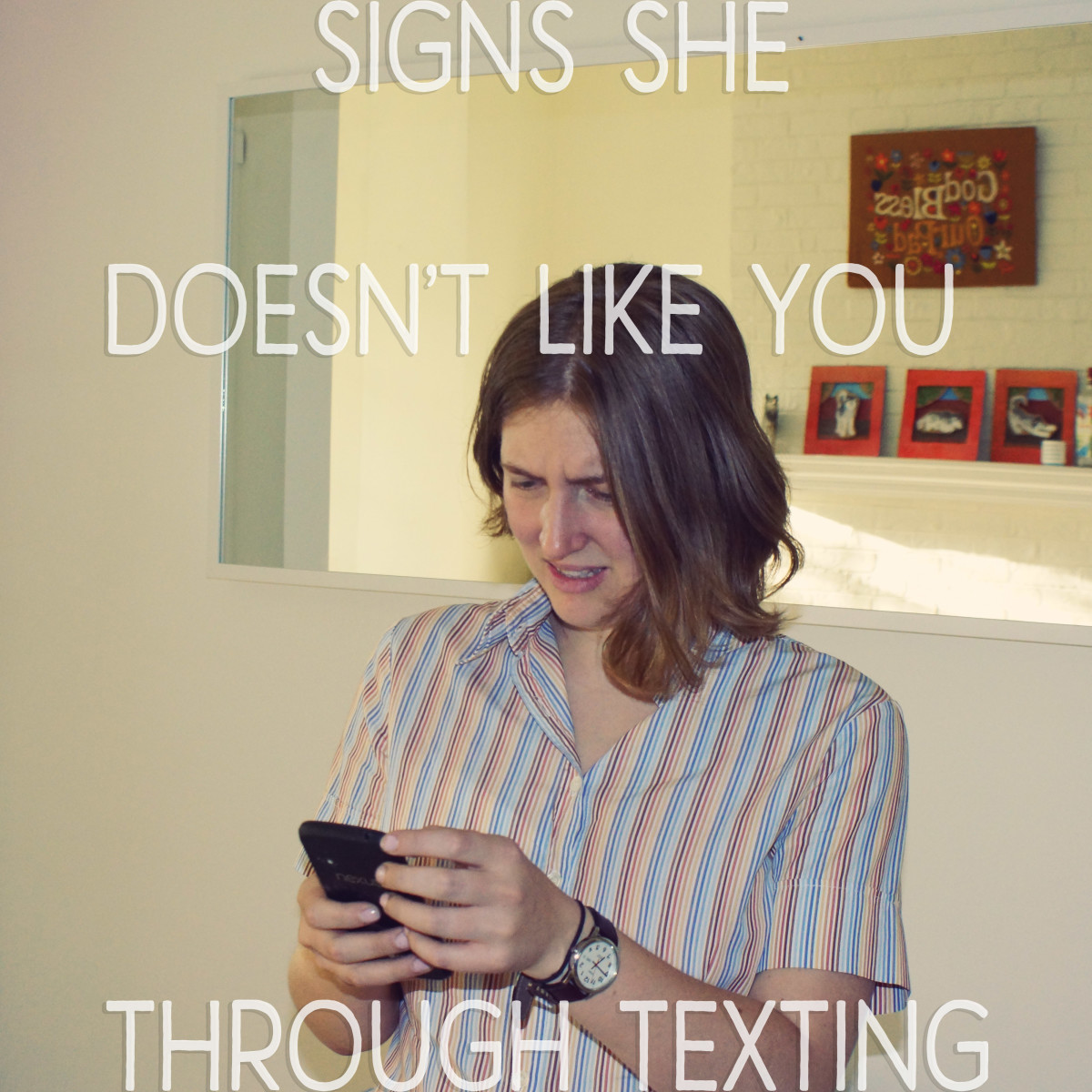 Signs She Doesn't Like You Through Texting
