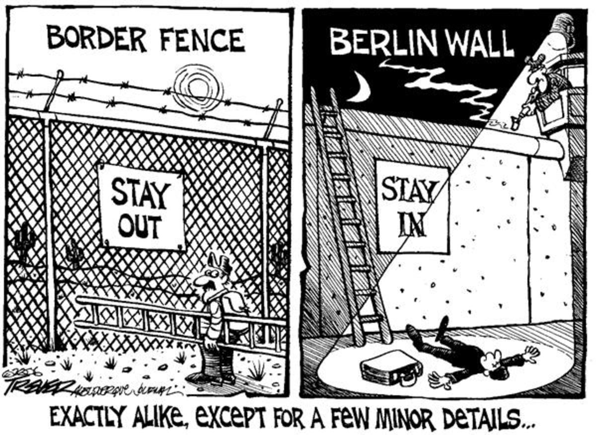 The Comedy and Tragedy of Trump's Wall