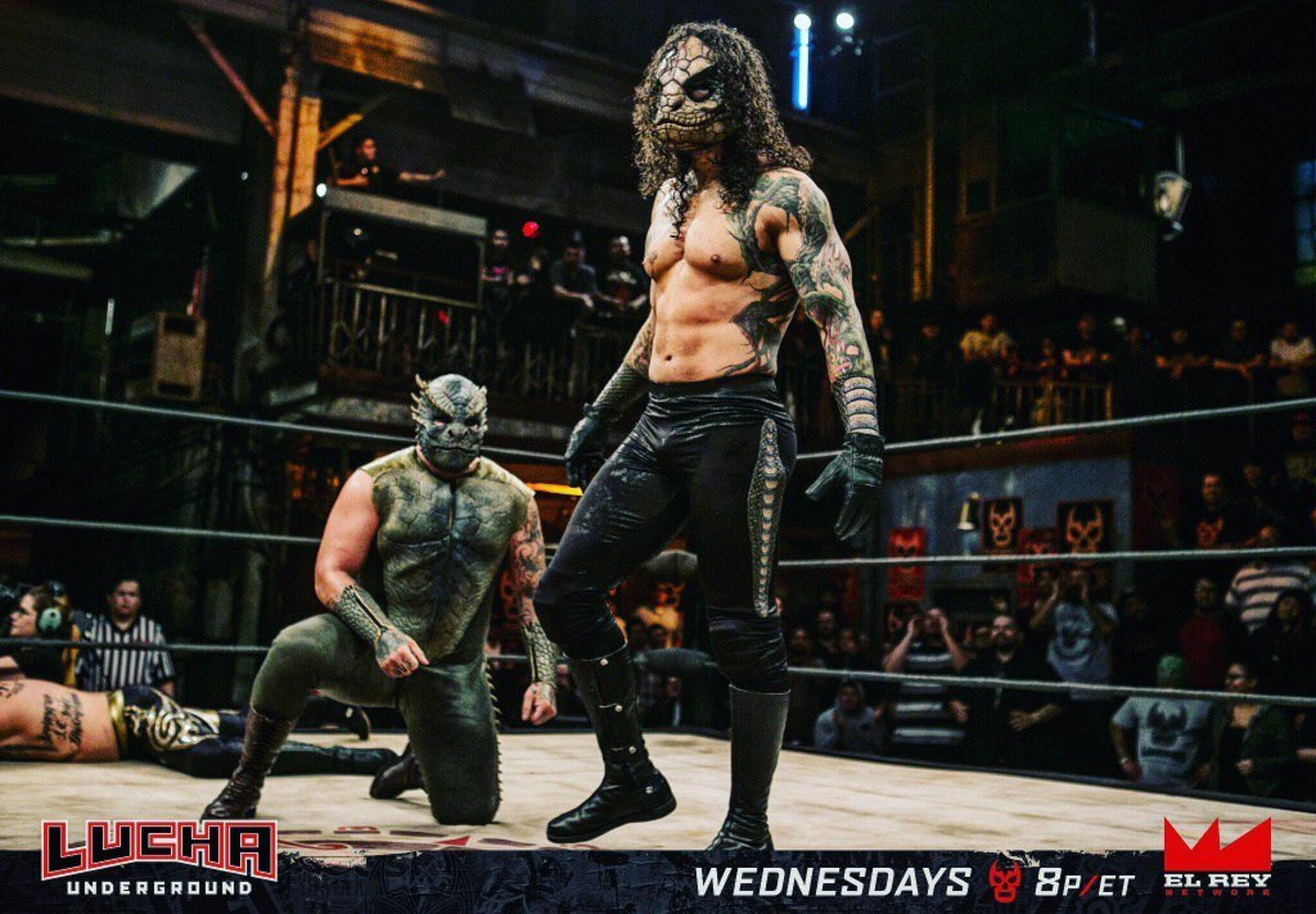 Lucha Tributes: Steve Pain and Austin Matelson (Pindar and Vibora)