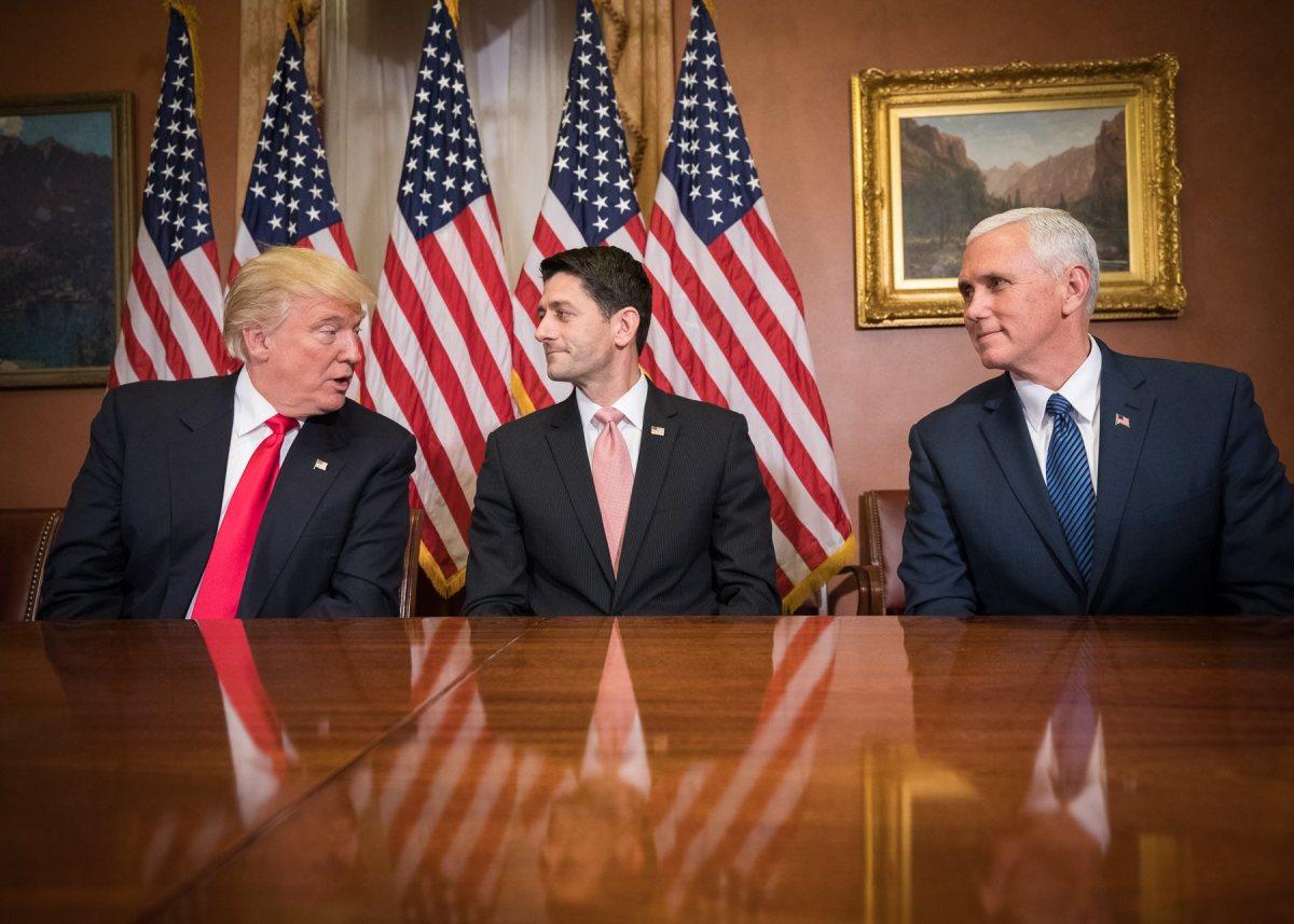 President Trump, Speaker Ryan, Vice President Pence. A nightmare team against women's health.