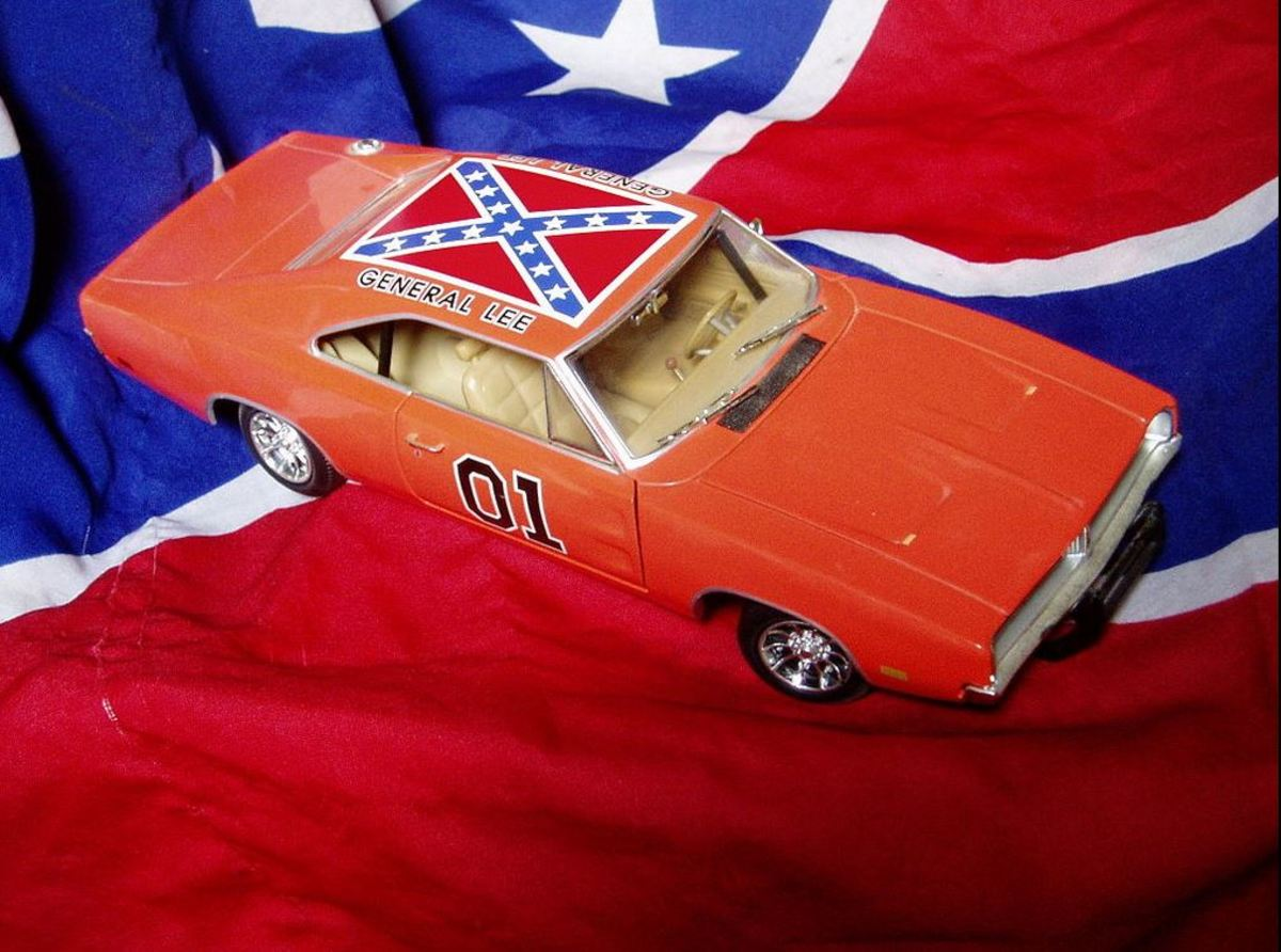 "Model of the General Lee from ""The Dukes of Hazzard"""