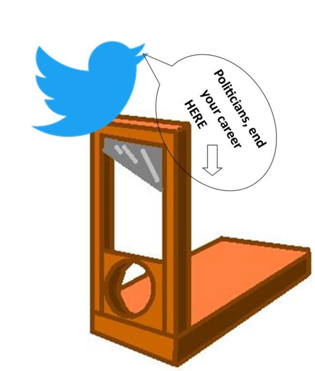 Twitter - The Politicians' Guillotine
