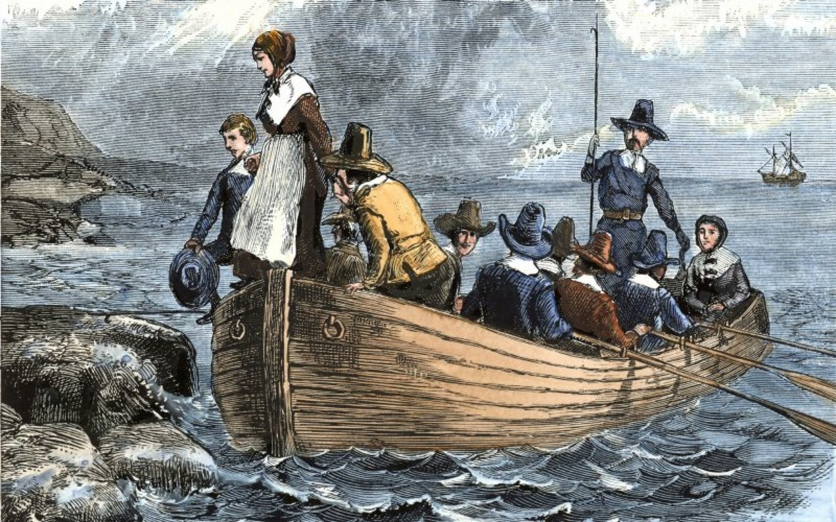 The Pilgrims - my ancestors - were America's first refugees.