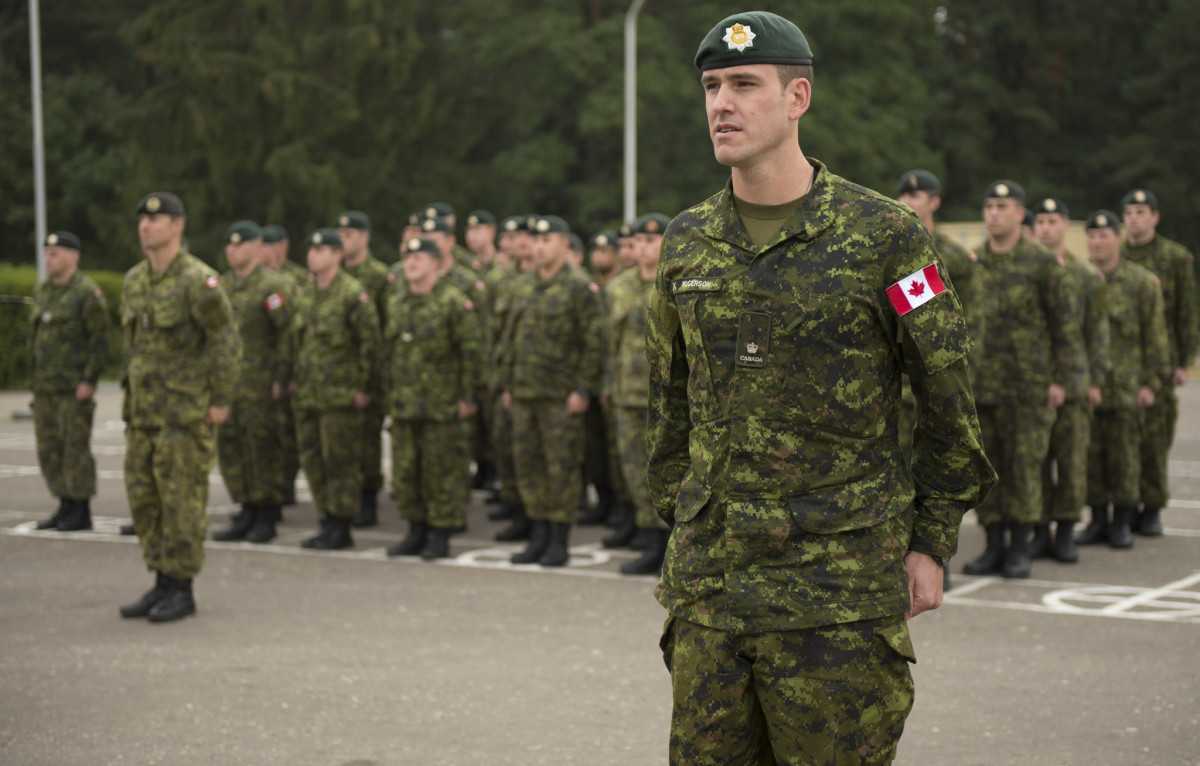 """""""Canadian Armed Forces Suffering From Underfunding"""" - DUH!"""
