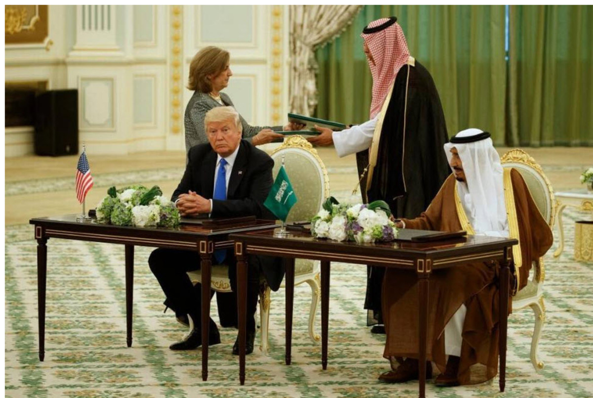 trump-and-the-saudi-arms-deal-is-it-good-or-bad