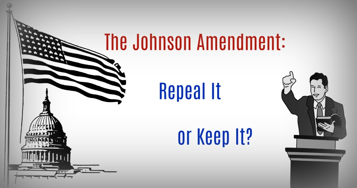 The Johnson Amendment protects both churches and society by prohibiting churches from endorsing political candidates.