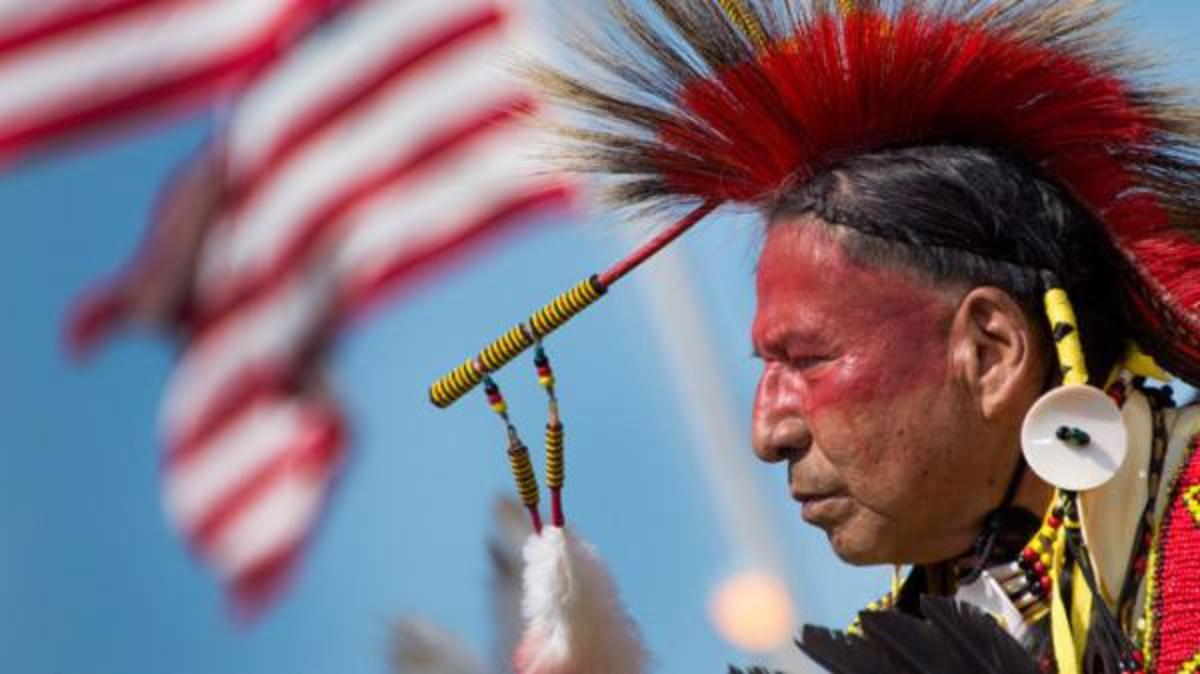 The term, 'red skin', is now considered by many to be a racial slur against Native Americans.  Many have a hard time understanding why words are such a big deal but like the country's history, its loaded with connotations.