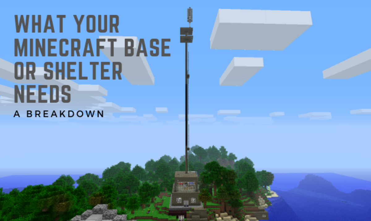 """10 Things Every """"Minecraft"""" Base or Shelter Needs"""