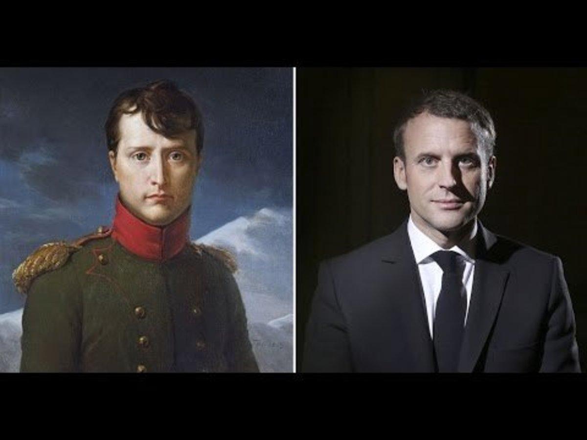 Two similar leaders, centuries apart.