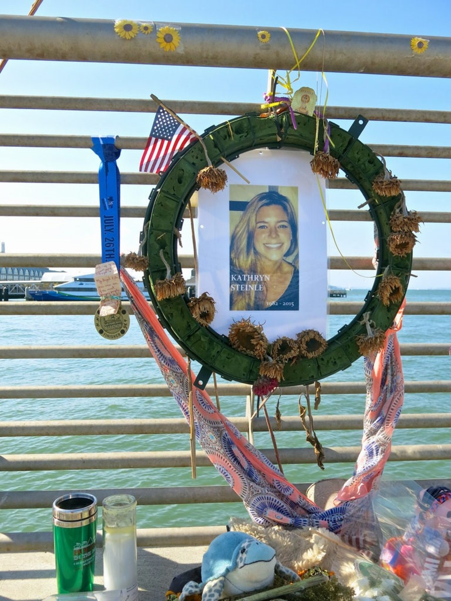 Memorial for Kathryn Steinle.