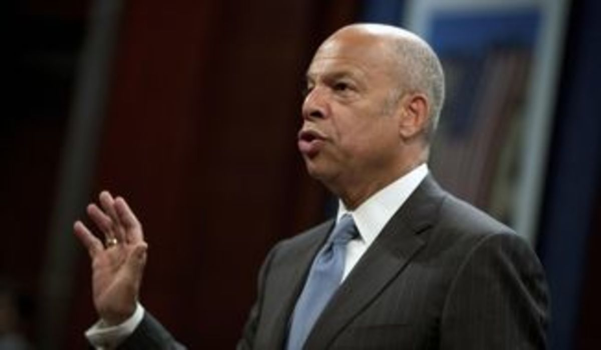 Jeh Johnson, Director of the Department of Homeland Security