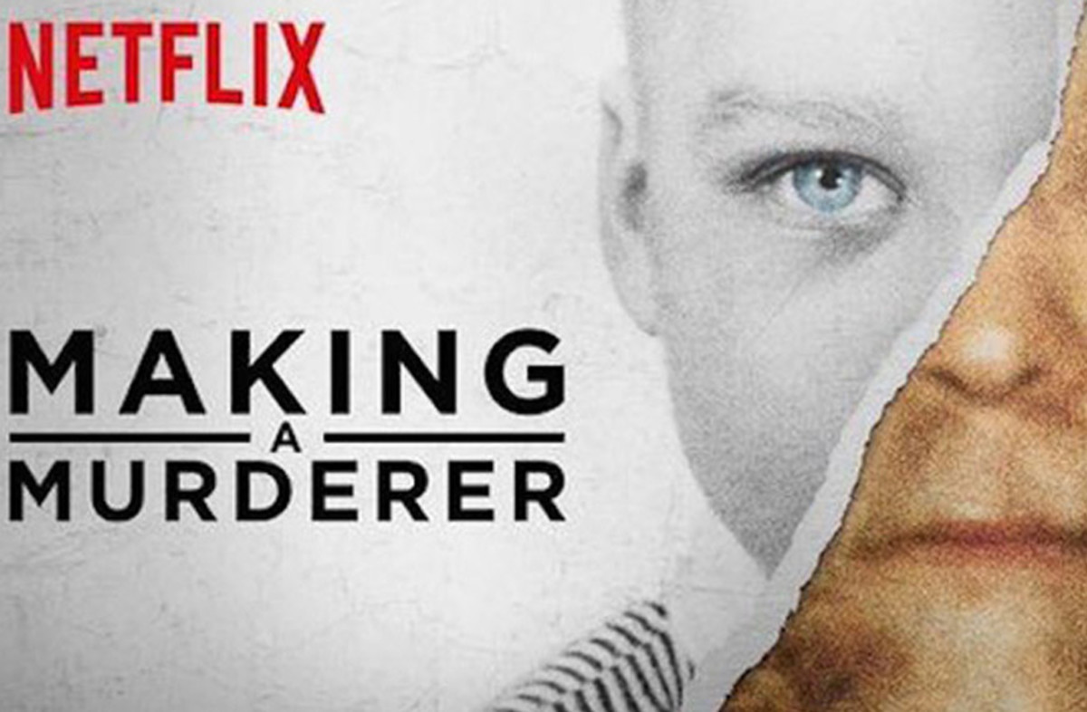 """Title screen for """"Making a Murderer."""""""