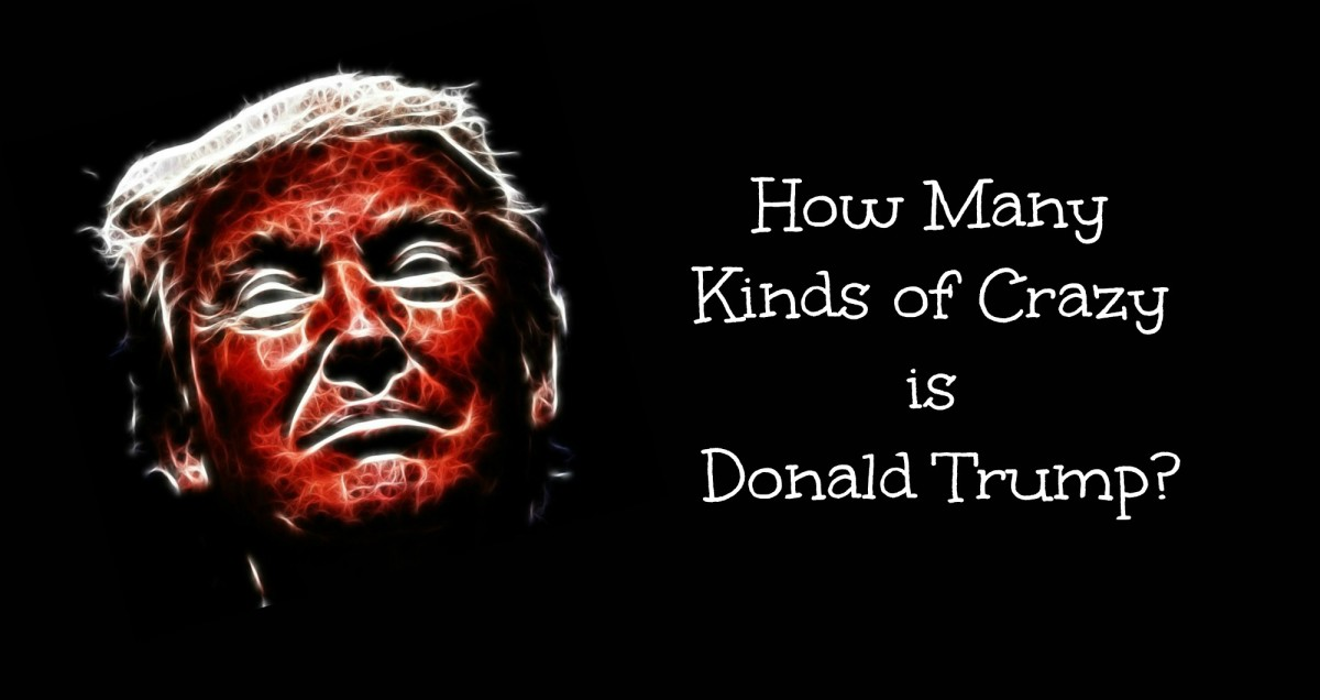 How Many Kinds of Crazy Is Donald Trump?