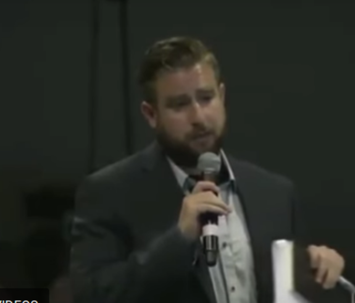 Seth Rich at 2015 election integrity conference.