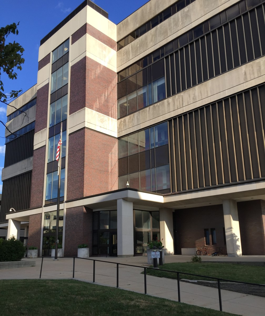 The McLean County Law & Justice Center, Bloomington, Illinois