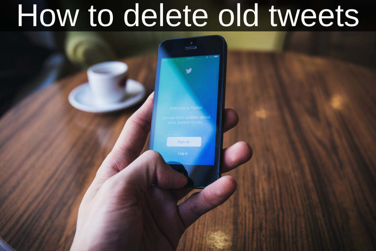 How to Find and Delete Old Tweets