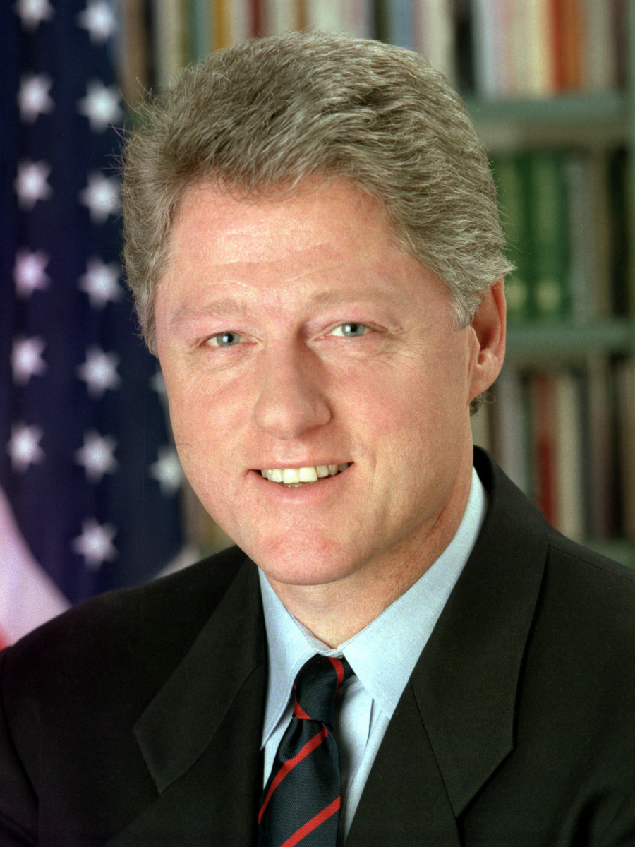 Official White House photo of President Bill Clinton, President of the United States. 1993.