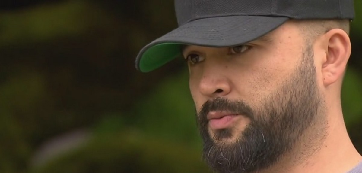 Patriot Prayer organizer Joey Gibson