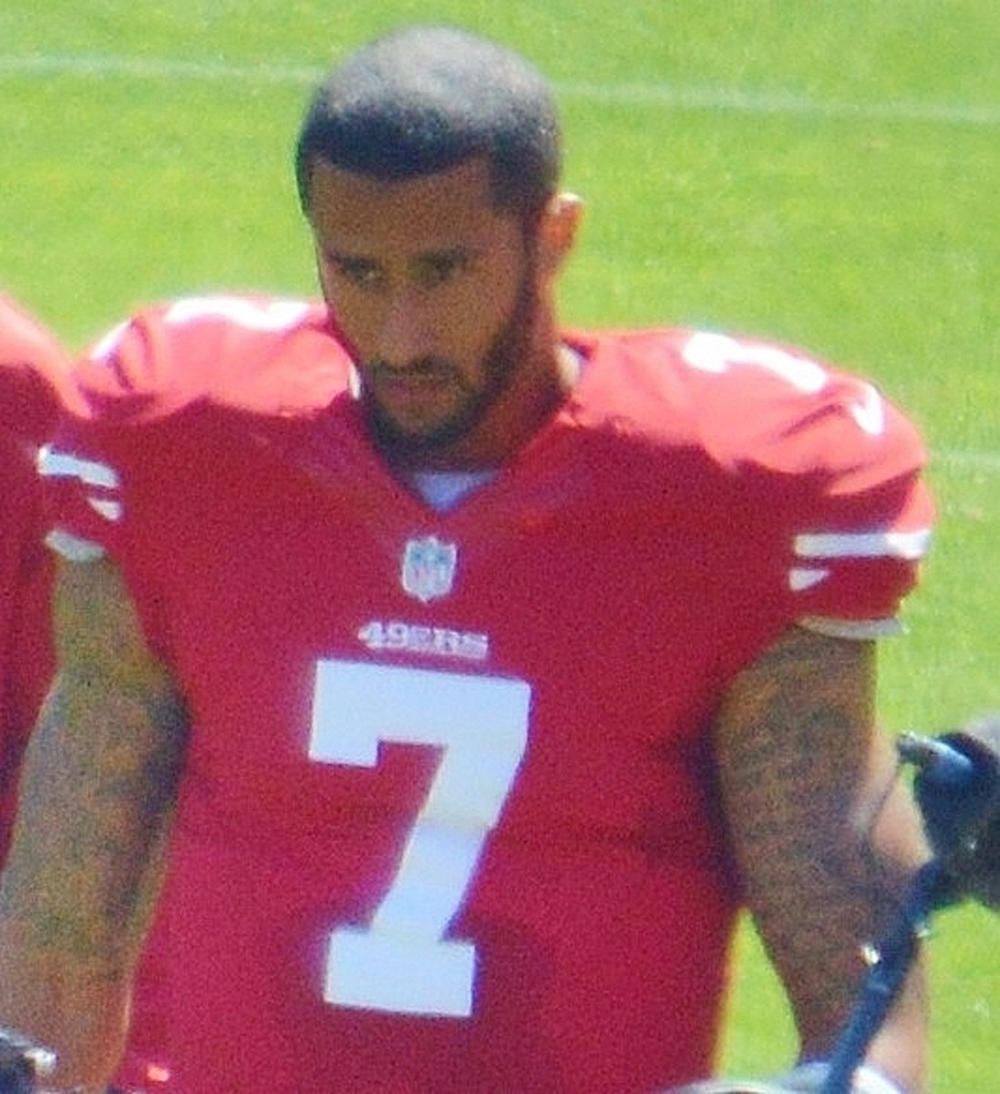 Colin Kaepernick in 2013.