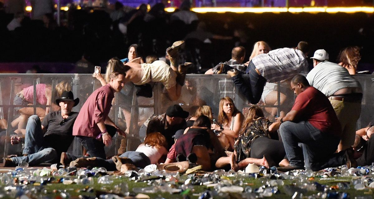 "Wounded Las Vegas Witness Claims ""100% Multiple Shooters,"" Says All Other Witnesses He Knows Say Same"