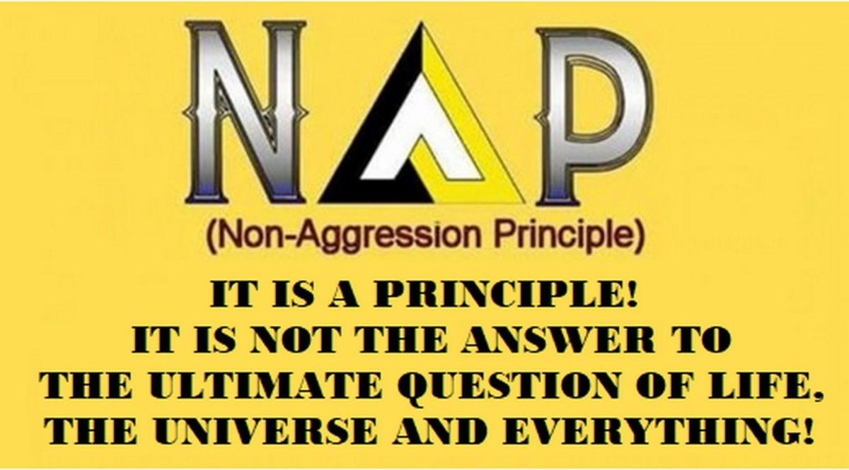 Surprise! The Non-Aggression Principle Is a Principle – Not a Philosophy!