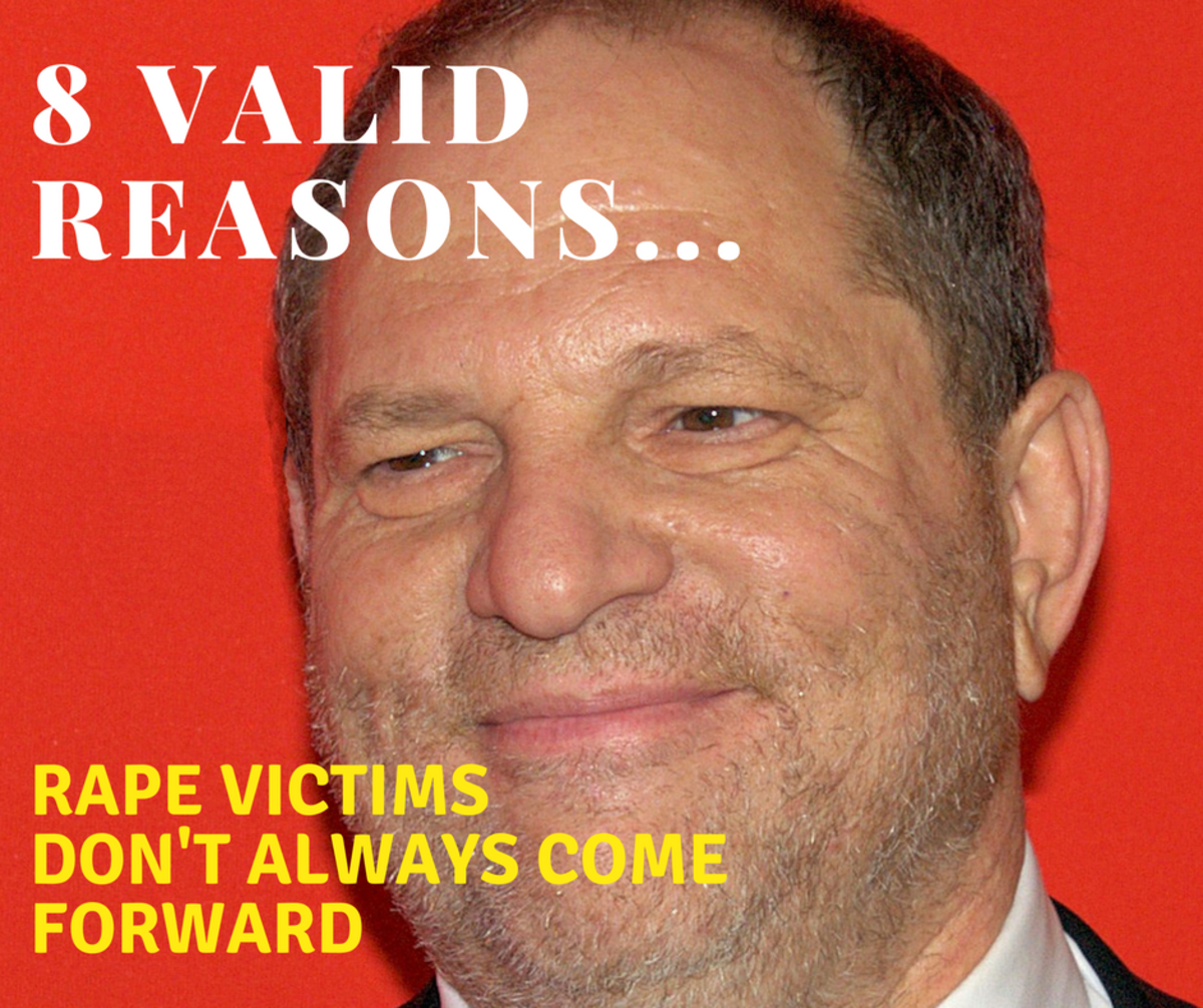 Harvey Weinstein - Why Victims of Rape Don't Always Come Forward