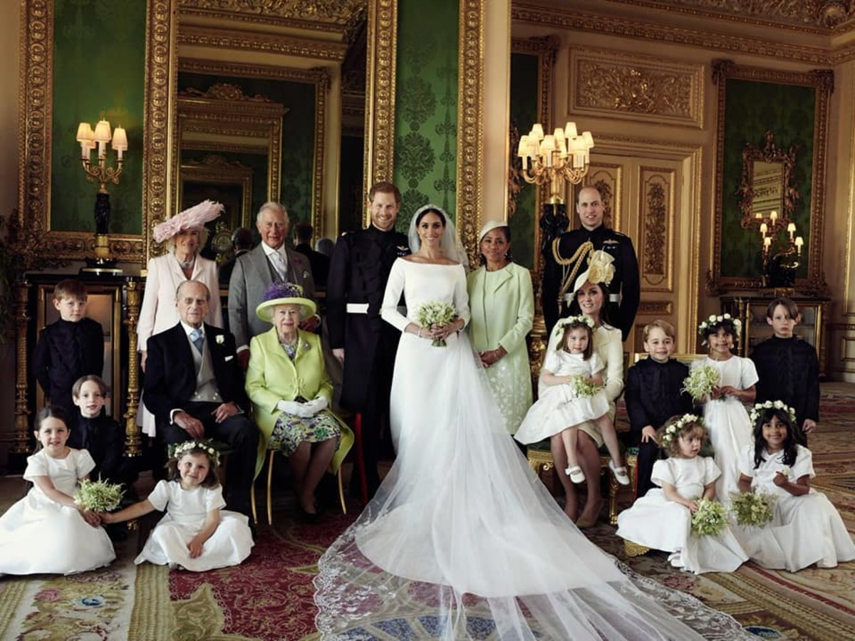 Meghan Markle joined the royal family on May 19 when she married Prince Harry.