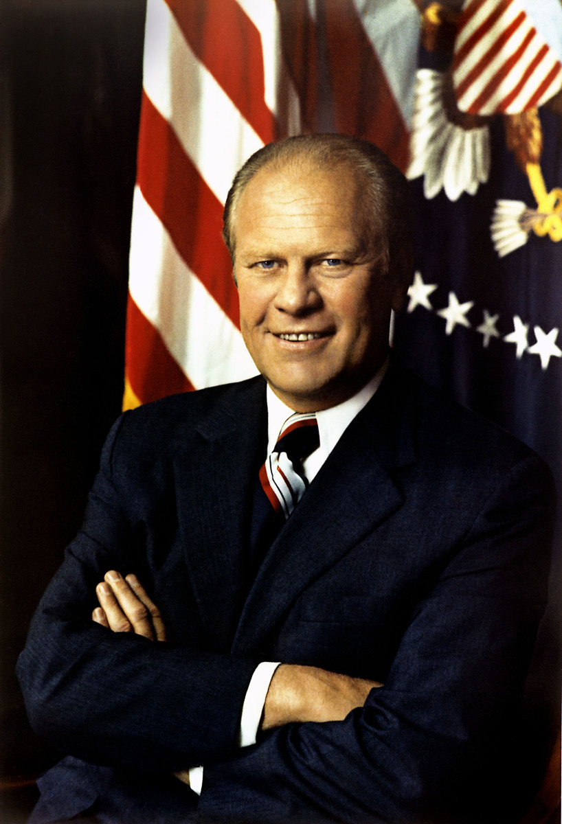 Gerald R Ford 38th President Only President Never