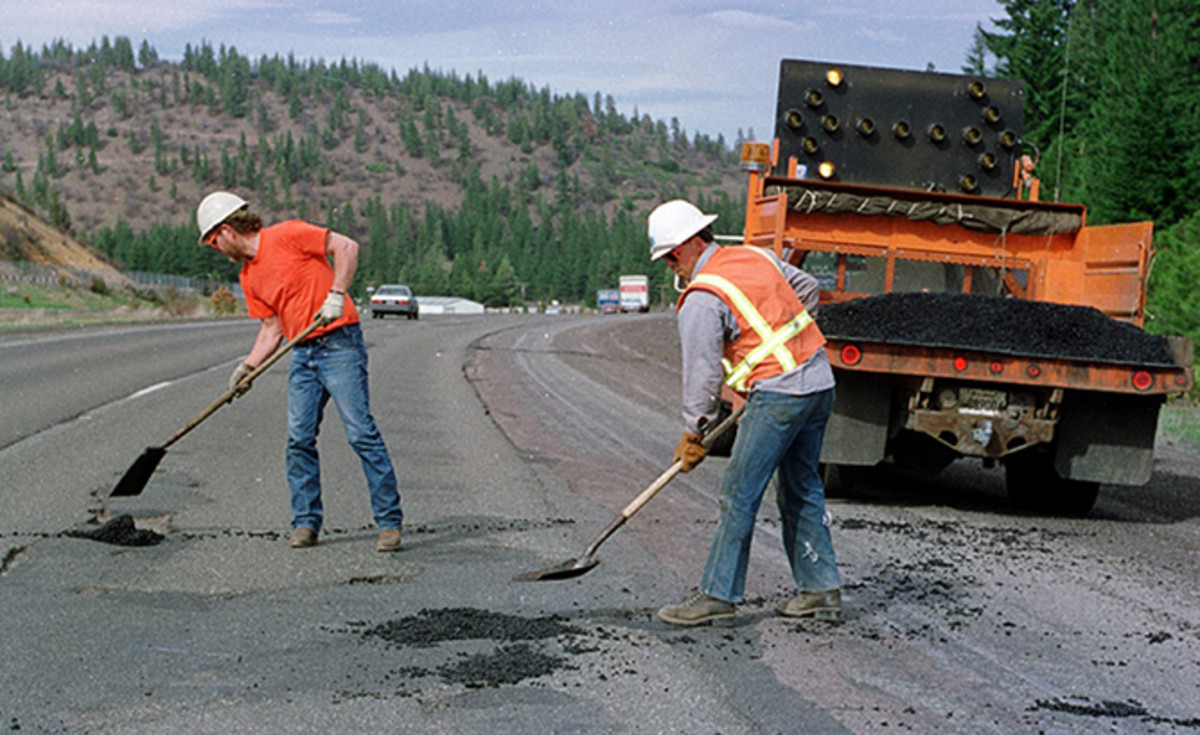 California Roads Need Repaired