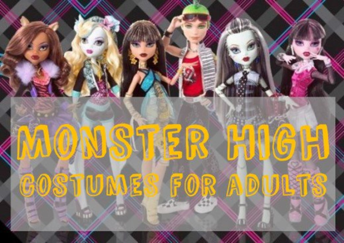 DIY Monster High Costumes for Adults
