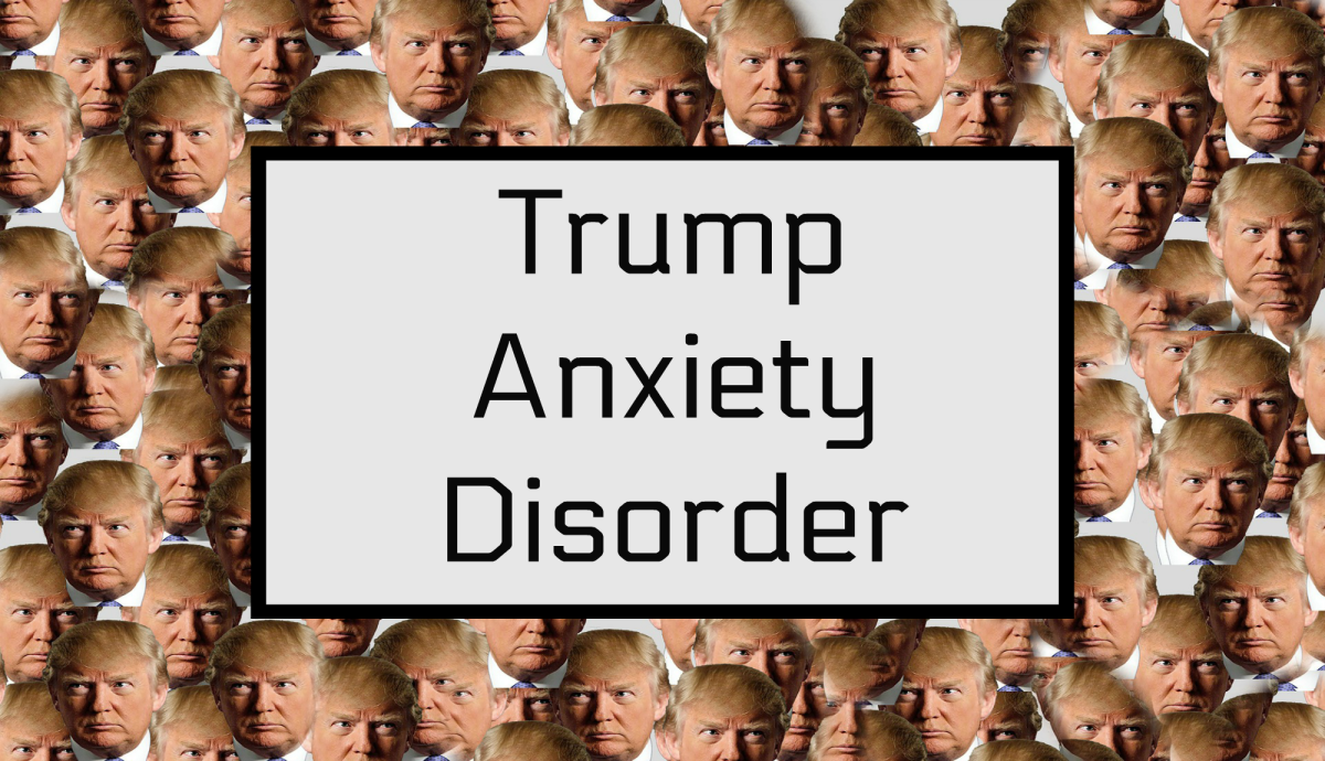 The presidency of Donald Trump is causing severe anxiety for many Americans.