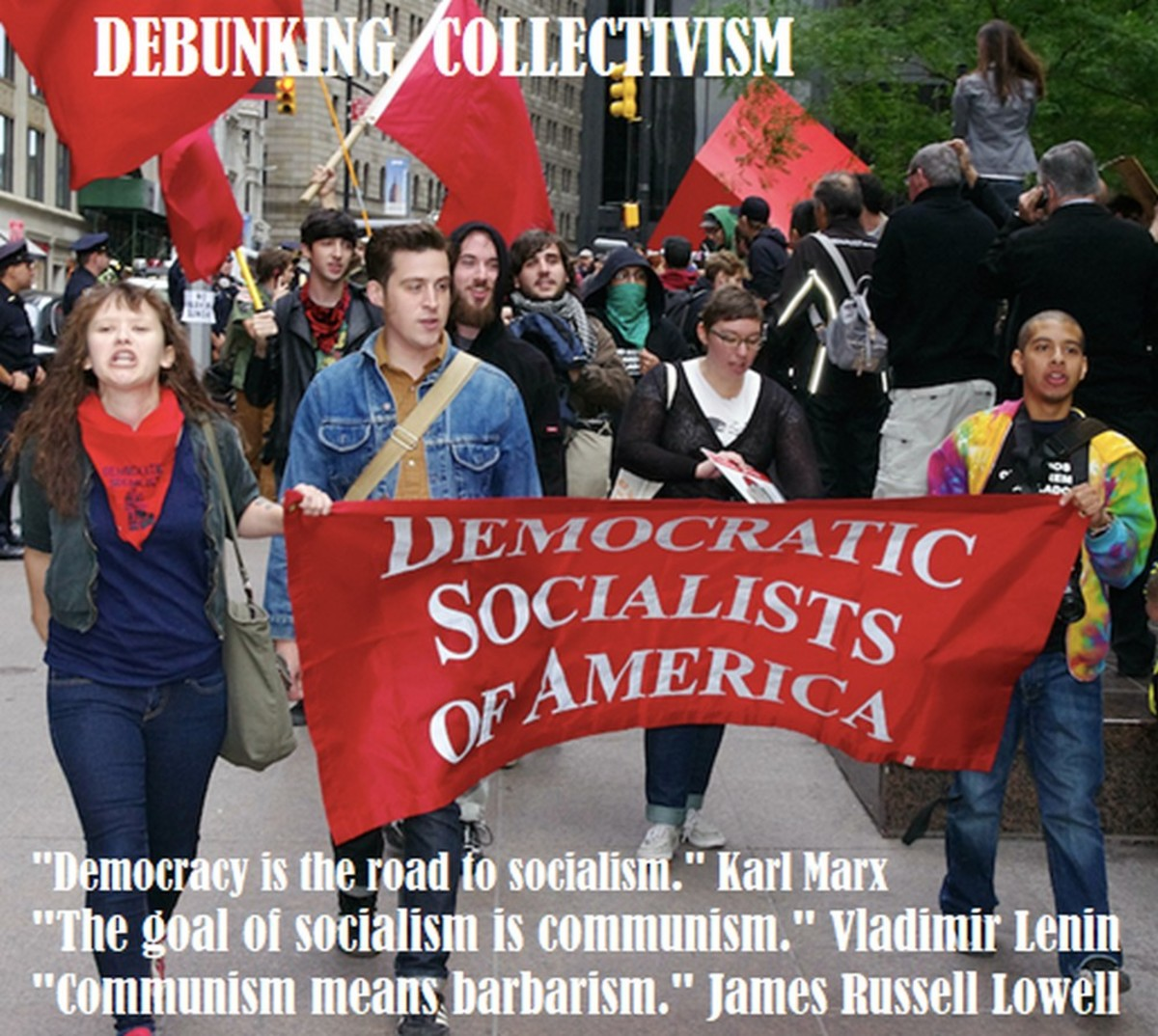 Orwellian Newspeak and the Six Conundrums of Socialism