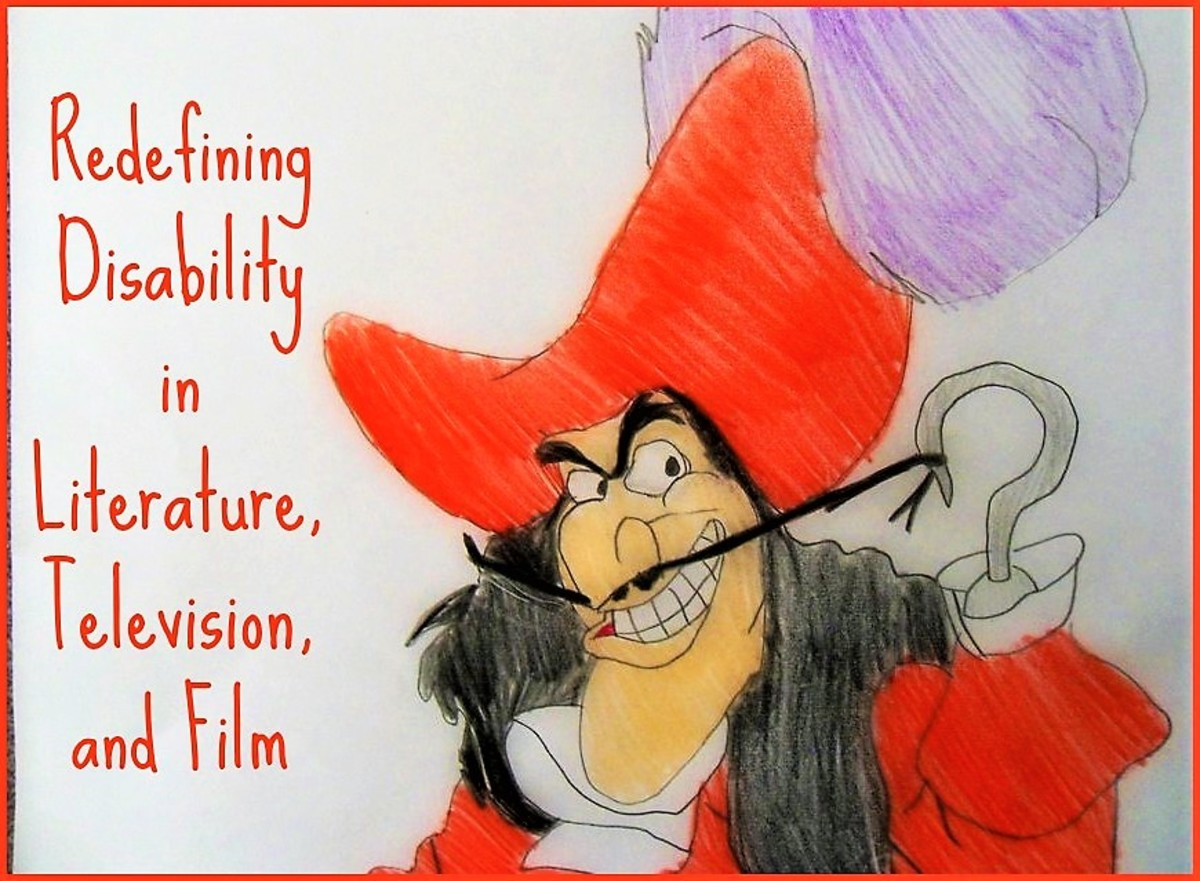 "Disabled villain is a stereotypical character that often appears in books, films, cartoons, TV shows etc. The disability is then used as a mark of evil so to speak, a sign that this character is utterly different from other ""good"" characters."
