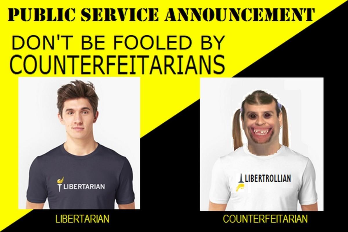 Public Service Announcement: Know Your Imaginary Libertarians