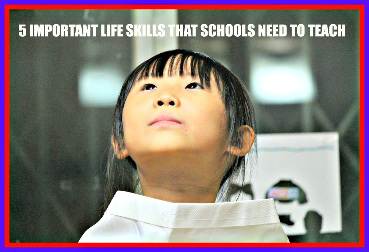 Schools need to get back to teaching skills to students that will help them in all aspects of their lives.
