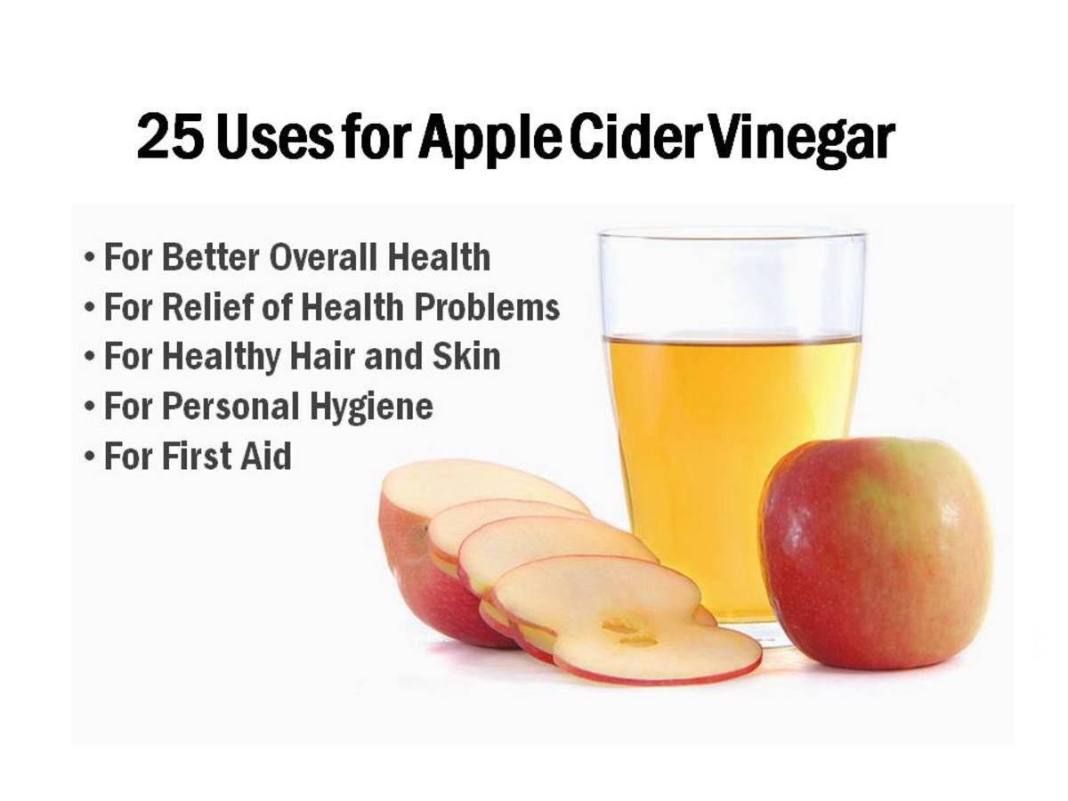 25 Uses for Apple Cider Vinegar