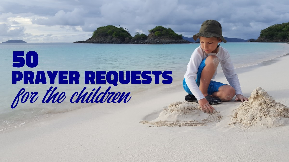 50 Prayer Requests for the Children