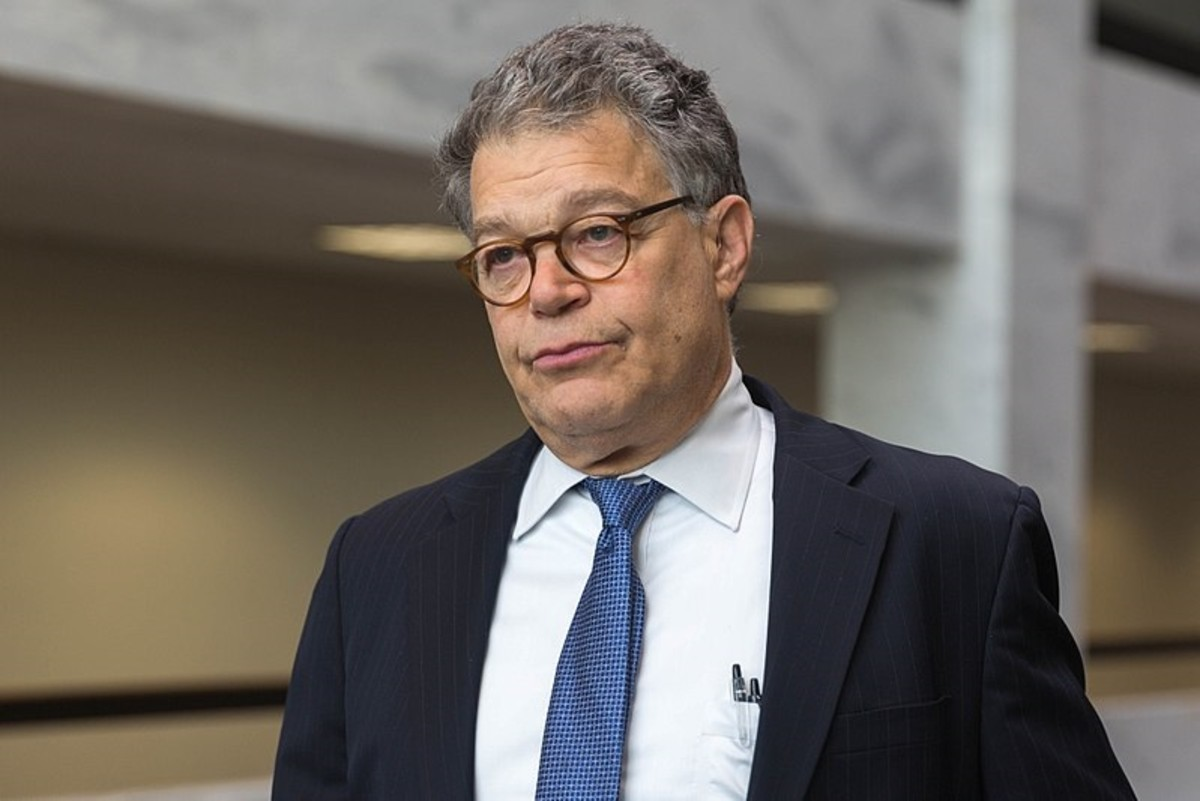 Former U.S. Senator Al Franken on November 15, 2016, in Washington, D.C.