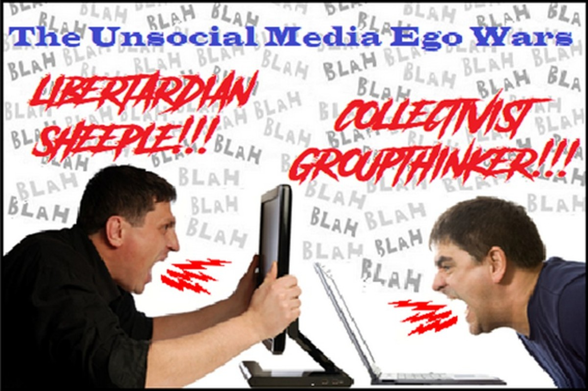 Libertarians and the Unsocial Media Game of Egos
