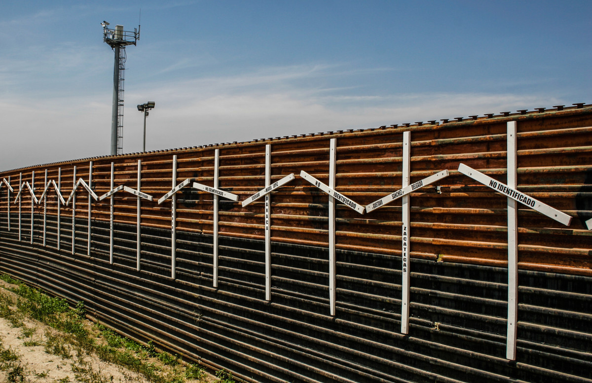 Existing Wall Between Tijuana and San Diego