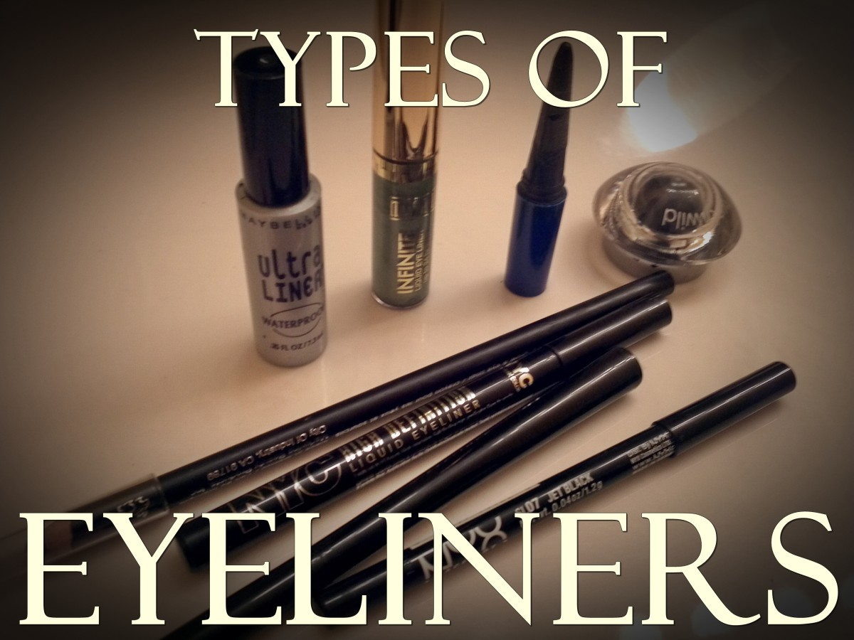 Types of Eyeliners: How to Use Them