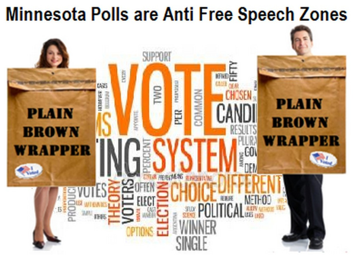 Voting in Minnesota? Wear Your Plain Brown Wrapper